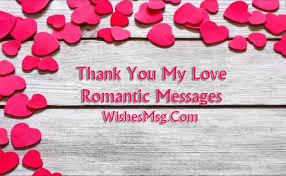 Thank You My Love Messages To Thank Special One WishesMsg Extraordinary Luv Messages With Pix