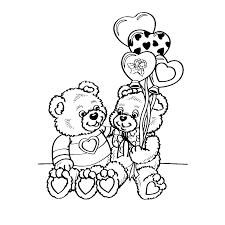 Leuk Voor Kids Beertjes Met Hartvormige Ballonnen