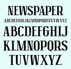 Newspaper Fonts 10 Newspaper Fonts Otf Ttf Download