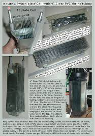 this low cost diy hho booster cell system works real well 350 total fits under the hood of a pickup truck 75 for the 316lss plates parts