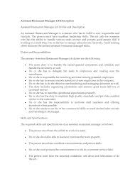 ... Mesmerizing Restaurant Owner Duties Resume On Restaurant Manager Duties  and Responsibilities Resume ...