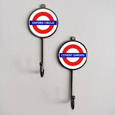 London Underground Coat Rack london underground tfl tube station landmark coat hook by pushka 41