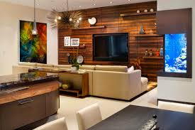custom entertainment center home bar