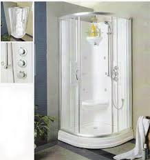 Corner Shower Stalls With Seat Design