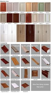 Pvc Kitchen Furniture Designs New Design Kitchen Almirah Designs Doors Pvc Cabinet Door For
