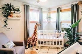 jungle safari themed baby room