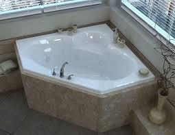 venzi ambra 60 x 60 corner air whirlpool jetted bathtub with center drain by atlantis