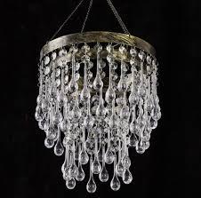 modern acrylic chandelier crystals