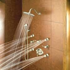 moen shower systems shower panel photo 4 of 7 shower systems 4 running shower system in
