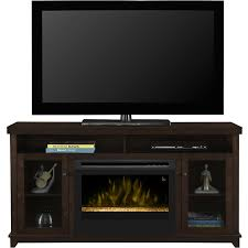 dimplex dupont electric fireplace entertainment center glass embers