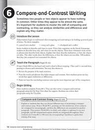 Comparison Essay Template Point By Point Method Block Method Compare And Contrast