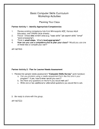 Basic Resume Sample Basic Skills Resume sample Free Resume Templates 53