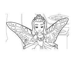 Coloriage Princesse Sofia Les Beaux Dessins De Disney Imprimer