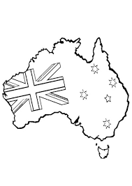Small Picture Free Online Printable Kids Colouring Pages Australian Map