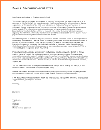 letter of re mendation graduate school letter of re mendation for high school student womenhealthhome within elegant cover letter sample for job