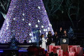 Full Size of Christmas: National Christmas Tree President Barack And  Michelle Obama Attend Their Final ...