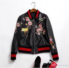 2017 new zealand imported lambskin flower erfly embroidery luxury brand jackets short genuine leather jackets leather jacket jackets from tinlon