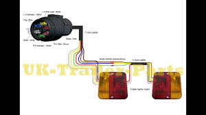 7 pin 'n' type trailer plug wiring diagram youtube wiring diagram for trailer light tester 7 pin 'n' type trailer plug wiring diagram