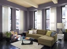 Benjamin Moore Living Room Purple Paint Color Scheme