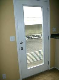 hinged patio doors with blinds between glass single patio door with blinds between glass mind boggling