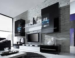 Modern Modernes Wohnzimmer Schwarz Weiß Stilvoll On Modern überall Grau  Fein Und 9 Modernes Wohnzimmer Schwarz