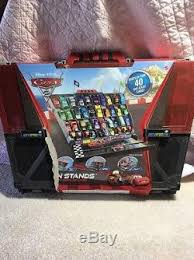 Disney Cars Fan Stand Display Case Disney Pixar Cars 100 Fan Stand Display Case Rare Great For 8