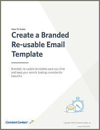 Save Email Template Guide Create A Re Usable Template