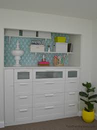 ikea how to turn a standard closet into a built in for craft storage using