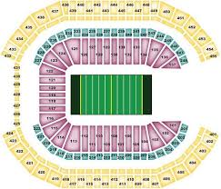 Arizona Stadium Seating Chart Arizona Cardinals Seating Chart For University Of Phoenix