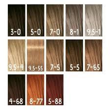 Igora Color Gloss Mousse In 2019 Hair Color Igora Hair