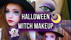 witch makeup for a little