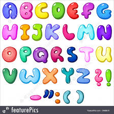 letters and numbers 3d bubble shaped alphabet set