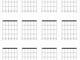 33 Expert Blank Chord Chart Pdf