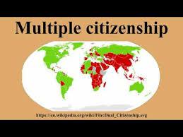 「Multiple citizenship」の画像検索結果