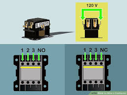 how to wire a contactor 8 steps (with pictures) wikihow 240 Volt Contactor Relay Wiring Diagram image titled wire a contactor step 2 240 Volt Heater Wiring Diagram