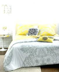 um image for victoria 5 piece comforter and duvet cover sets apartment bedding bed bathblack single grey and yellow