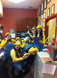 office theme ideas. Minion Costume :) Best Halloween For The Office. Minions Hard At Work! Office Theme Ideas D