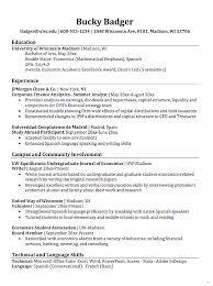 Double major resume admirable economics sample resumesdesign
