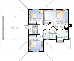 Home Office With Separate Entrance - 21634DR Floor Plan 2nd Floor  Architectural Designs