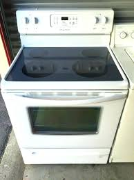 amana glass top stove excellent kitchen glass top stove appliances in tn replacement attractive electric amana amana glass top stove