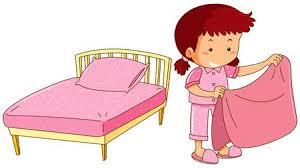 make bed clipart. Interesting Bed Little Girl Making Bed Illustration Illustration To Make Bed Clipart R