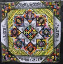 87 best Dia de los Muertos quilts images on Pinterest | Califlower ... &