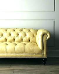 yellow leather couch er a sofa walls brown furniture yellow sleeper sofa er leather
