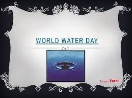 world water day an essay on international water day   world water day 22 an essay on international water day in english language