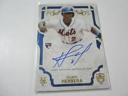 2015 Topps Supreme Dilson Herrera RC Autographed Rookie Card New York Mets    eBay