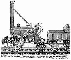Железнодорожный транспорт его особенности основные показатели и  Первый паровоз был построен в 1804 году Ричардом Тревитиком в молодости знакомым с Джеймсом Уаттом изобретателем паровой машины