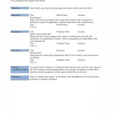Resume Template Outstanding Best Free Templates Microsoft Word Print ...