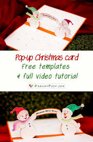 Christmas Card Images Free How To Make Pop Up Christmas Card Free Template