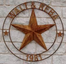 personalized handmade metal art made in texas  on texas star metal wall art with texas 3d star copper star barn star
