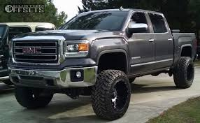 gmc sierra 2014 lifted. Unique Sierra 1 2014 Sierra 1500 Gmc Suspension Lift 8 Xd Riots 12 Machined Accents  Super Aggressive 3 In Lifted